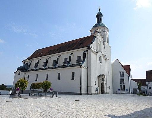 Hohenwart, PAF Klosterberg Klosterkirche v NW