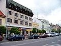 Holice, náměstí, východní strana, hotel.jpg
