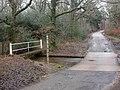 Holmsley, water level gaugeboard - geograph.org.uk - 1139721.jpg