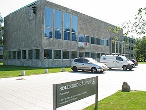 Søllerød Municipality - Søllerød Town Hall (1942) designed by Arne Jacobsen and Fleming Lassen