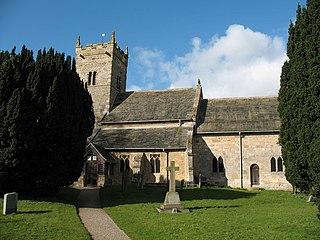 Little Ouseburn village in United Kingdom