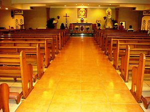 Greenhills Shopping Center - Chapel of the Holy Family, belonging to Latin Rite Catholics