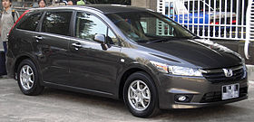 Honda Stream (second generation) (front), Singapore.jpg