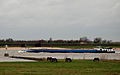 Horses and a barge - the Waal at Druemel, Netherlands, Jan. 2007.jpg