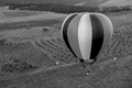 Hot air balloon flying over Canberra..png