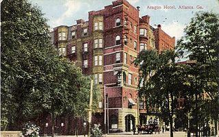 Hotel Aragon former hotel in Atlanta, Georgia, USA
