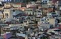 Houses in Taormina from the Theatre - Taormina - Italy 2015.JPG