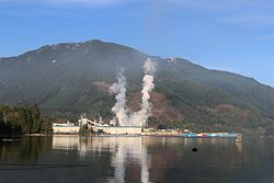 Howe Sound Pulp & Paper Corporation mill, Port Mellon.jpg