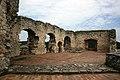 Hrad Rabí s hradním kostelem Nejsvětější Trojice, část stojící, část zřícenina a archeologické stopy (Rabí) (20).jpg