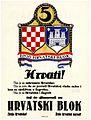 Hrvatski blok, plakat 1927.jpg