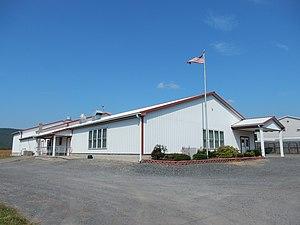 Hubley Township, Schuylkill County, Pennsylvania - Image: Hubley Township Bldg, Schuylkill Co PA 01