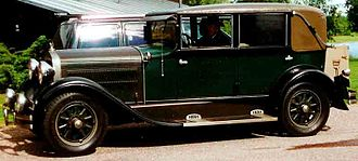 Hudson Motor Car Company - 1929 Hudson Model R 4-Door Landau Sedan