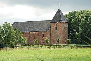 Huizinge Village in Groningen, Netherlands