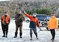 Hunt organizer briefing hunters in Hohenfels 01.jpg