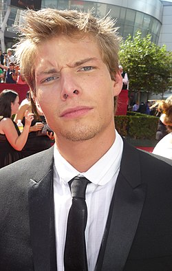 Hunter Parrish vid Emmy Awards, september 2009.