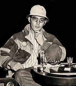 Hunter S. Thompson American journalist and author who founded the gonzo journalism movement