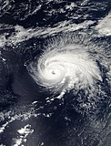 Hurricane Gordon at peak intensity
