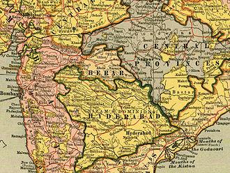 Berar Province - Hyderabad and Berar Province in 1903