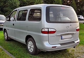 Hyundai Starex - Hyundai H-1