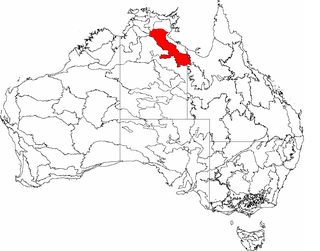 Gulf Fall and Uplands Region in Australia