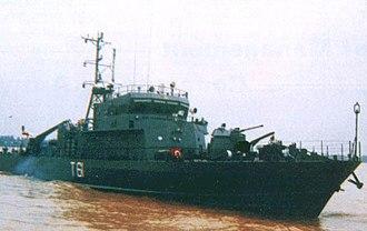 Trinkat-class patrol vessel - Image: INS Trinkat (T61)