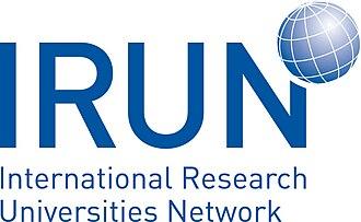 International Research Universities Network - Image: IRUN logo cmyk