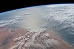 ISS-58 Mauritania coast.jpg