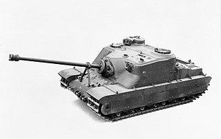 Tortoise heavy assault tank British assault gun design/prototype