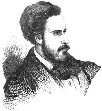 Ion C. Brătianu - Brătianu in 1848, detail of a group portrait of Provisional Government members