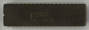 Intel 8087 - Image: Ic photo Intel D8087 2 (8086 FPU)