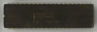 Intel 8087 - Image: Ic photo Intel D8087 2 (8086 FPU)