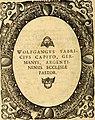 Icones, id est verae imagines virorum doctrina simul et pietate illustrium, quorum praecipuè ministerio partim bonarum literarum studia sunt restituta, partim vera religio in variis orbis Christiani (14748150144).jpg