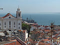 Igreja de Santo Estêvão, seen from the Miradouro S. Luzia, Lisbon, Portugal.jpg