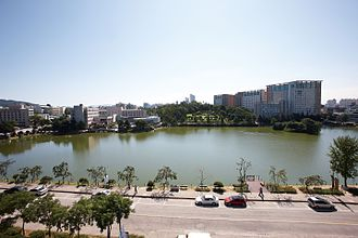 Konkuk University - Ilgam Lake