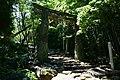 Inasa Shrine Hizen torii from left forward.jpg