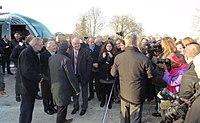 Inauguration de la branche vers Vieux-Condé de la ligne B du tramway de Valenciennes le 13 décembre 2013 (082).JPG