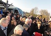 Inauguration de la branche vers Vieux-Condé de la ligne B du tramway de Valenciennes le 13 décembre 2013 (089).JPG