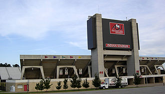 Centennial Bank Stadium - Image: Indian Stadium
