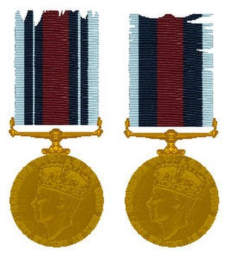 Indian Police Service - Indian Police Medal issued in 1940