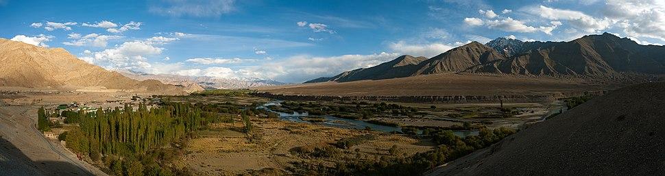 The Indus River near Leh, Ladakh