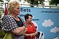 Ineke van Gent en Sharon Dijksma, Lancering Europese Mobiliteitsweek 2010.jpg