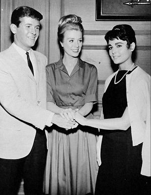 Yale Summers - Yale Summers guest starring with Sharon Hugueny (right) in a May 1964 episode of Inger Stevens' sitcom The Farmer's Daughter
