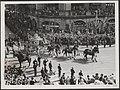 Inhuldiging koningin Juliana. Rijtoer door Amsterdam. Gouden Koets op het Leidse, Bestanddeelnr 014-1135.jpg