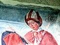 Innichen Stiftskirche - Romanisches Südportal 4a Fresco St.Candidus.jpg