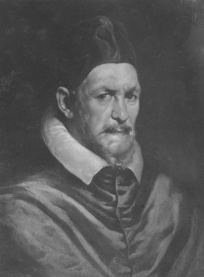 Innocentius X, 1574-1655, påve