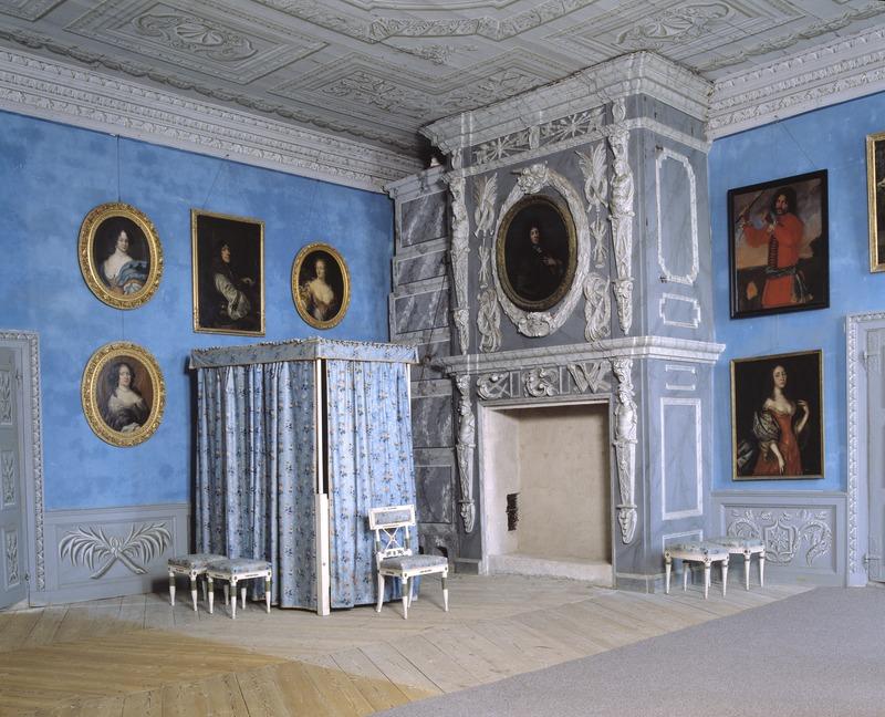 Interiör. Gästrumsvåningen. Antwerpen - Skoklosters slott - 47664.tif