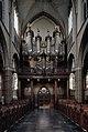 Interieur, overzicht van de westgevel met het orgel, orgelnummer 654 - Helmond - 20384914 - RCE.jpg