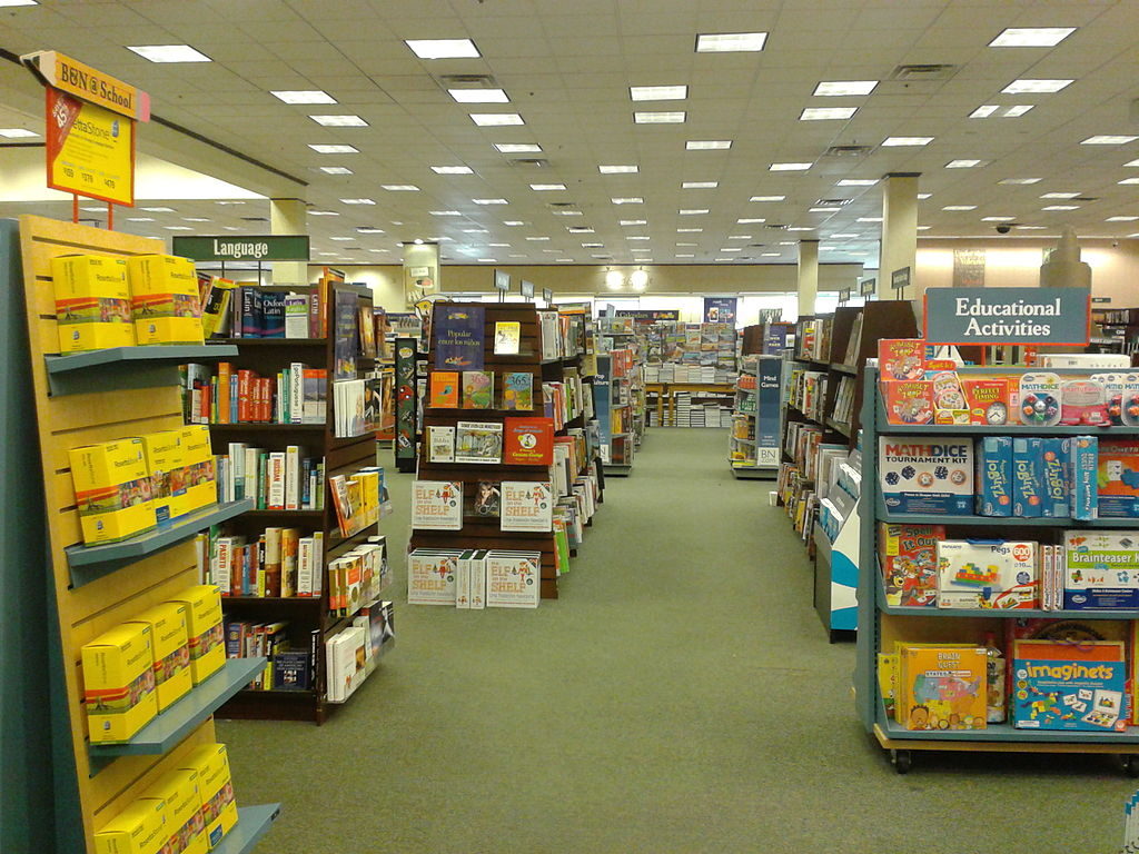 File Interior Barnes And Noble Alexandria Virginia 2