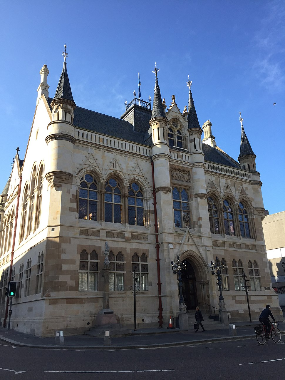 Inverness, High Street, Town Hall