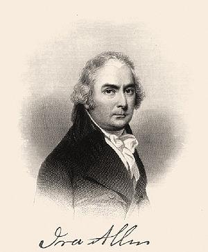 Ira Allen - Engraving of Ira Allen